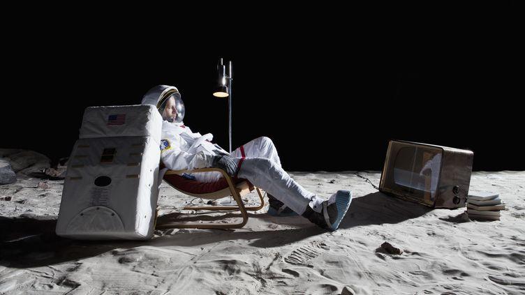 """Le directeur de l'Agence spatiale européenne (ESA), rêve de la créationd'un """"village lunaire"""", capable de remplacer l'actuelleStation spatiale internationale (ISS). (CASPAR BENSON / FSTOP)"""