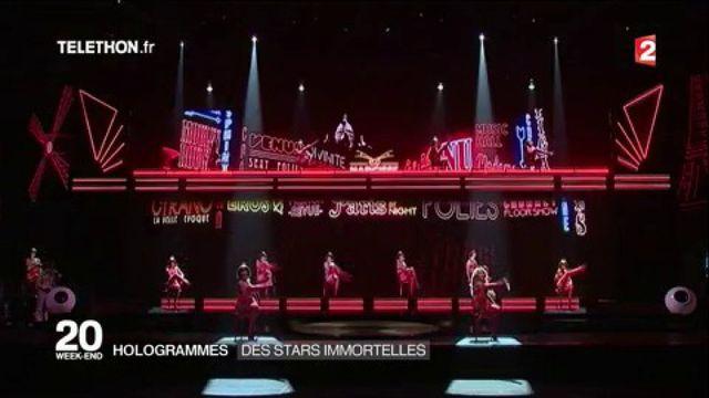Hit Parade : un spectacle d'hologrammes pour ressusciter des stars