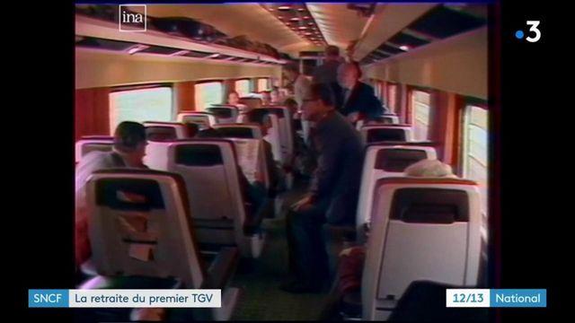 SNCF : Patrick, le premier TGV, fait ses adieux au rail