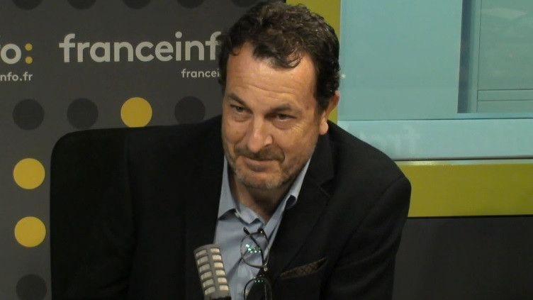 Laurent-Eric Le Lay, patron des sports de France Télévisions, invité de franceinfo le 21 septembre 2020 (FRANCEINFO / RADIO FRANCE)