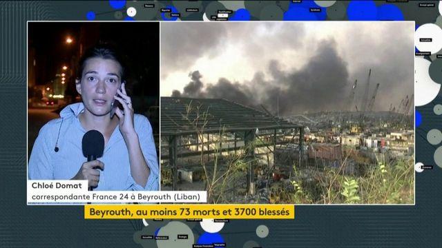 Explosion à Beyrouth : le bilan continue de s'alourdir