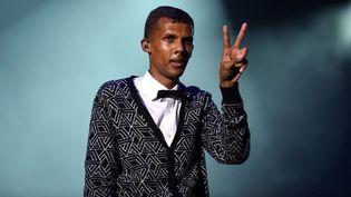 Stromae en concert à Rabat le 2 juin 2014 devant 183.000 spectateurs  (Stomae en concert à Rabat le 2 juin 2014)
