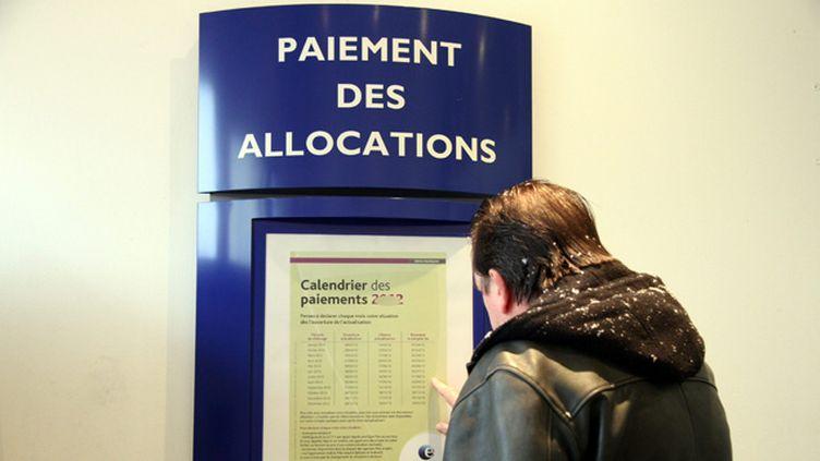 (69% des Français interrogés sont favorables à la réduction des allocations chômage des plus aisés © Maxppp)