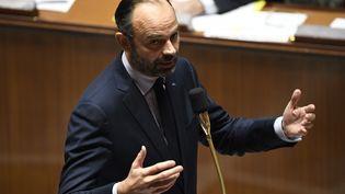 Le Premier ministre Edouard Philippe répond aux questions au gouvernement à l'Assemblée nationale le 12 décembre 2018. (BERTRAND GUAY / AFP)