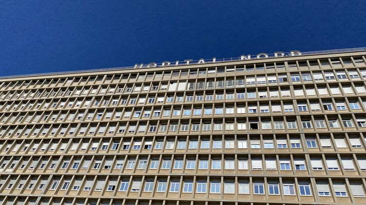 L'Hôpital Nord de Marseille. (DAVID AUSSILLOU / RADIO FRANCE)