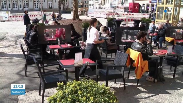 Luxembourg : les terrasses font le plein