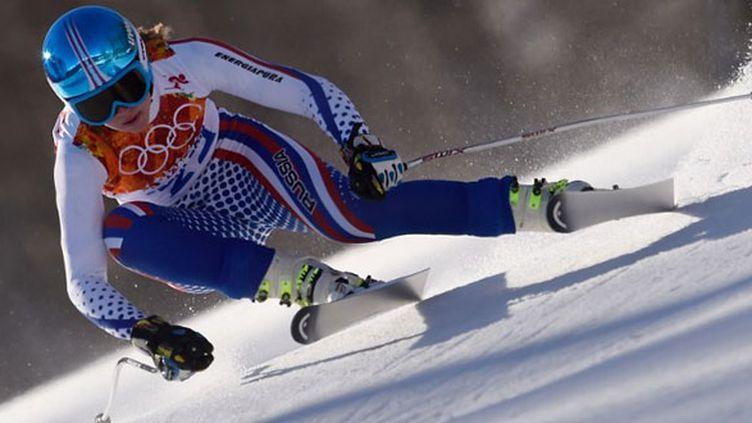La skieuse russe Elena Yakovishina