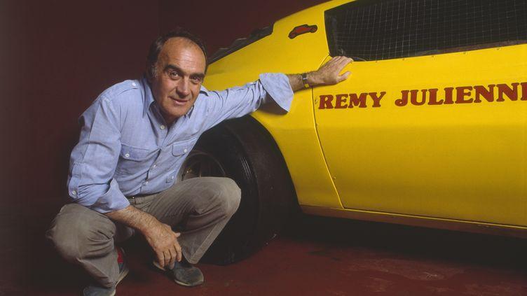 Le cascadeur Rémy Julienne, 6 juin 1986. (ERIC PRÉAU / SYGMA)