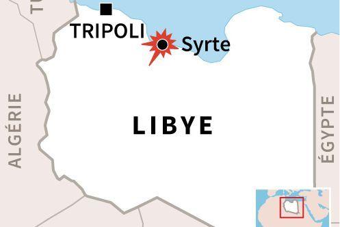 Daech contrôle de vastes zones dans la région côtière de Syrte. (AFP/ G. Handyside/P. Pizarro )