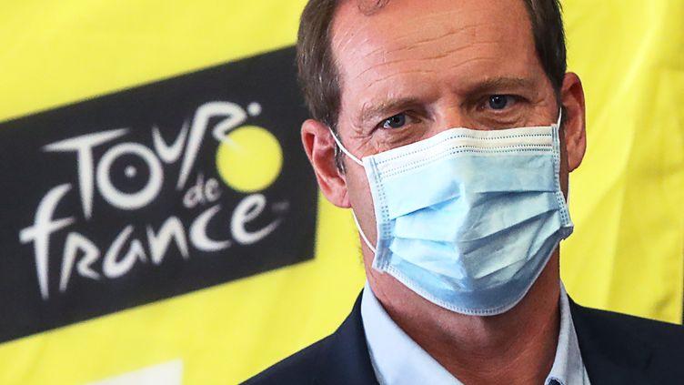 Le patron du Tour de France Christian Prudhomme. (VALERY HACHE / AFP)