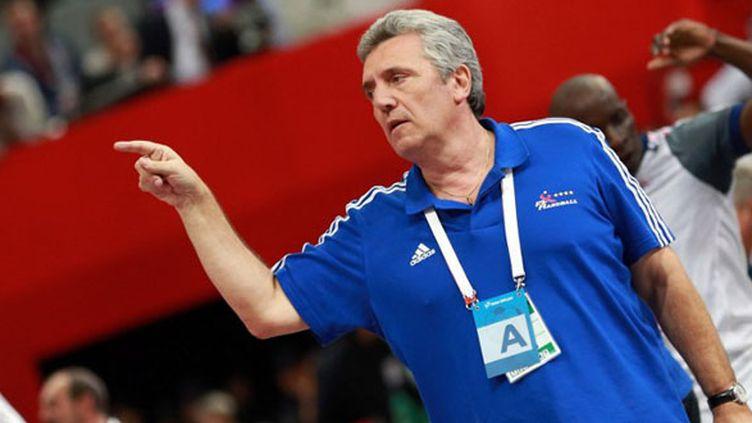 L'entraîneur tricolore Claude Onesta (MOHAMED FARAG / ANADOLU AGENCY)
