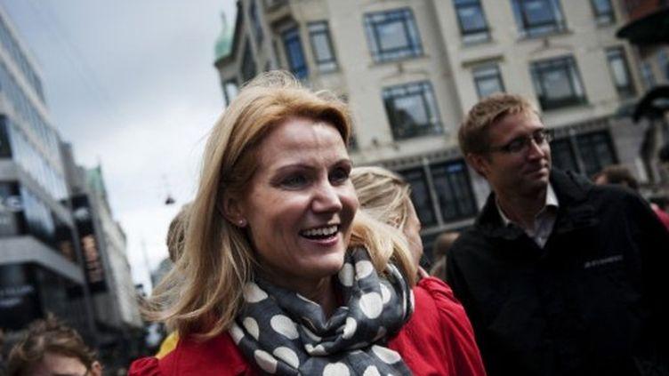 Helle Thorning-Schmidt, future première-ministre ? (JONATHAN NACKSTRAND / AFP)