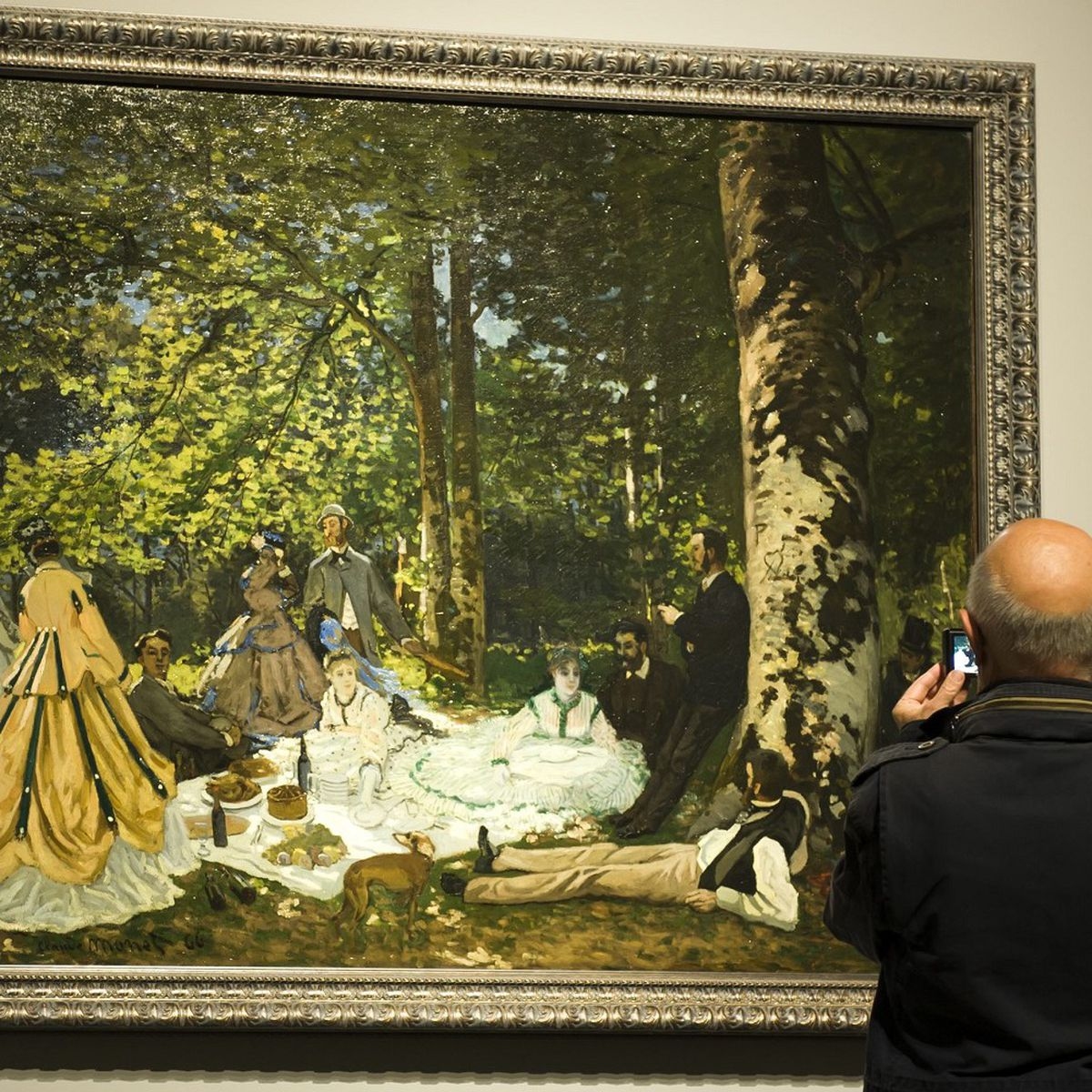 Le Dejeuner Sur L Herbe De Monet Joyau De La Collection Chtchoukine