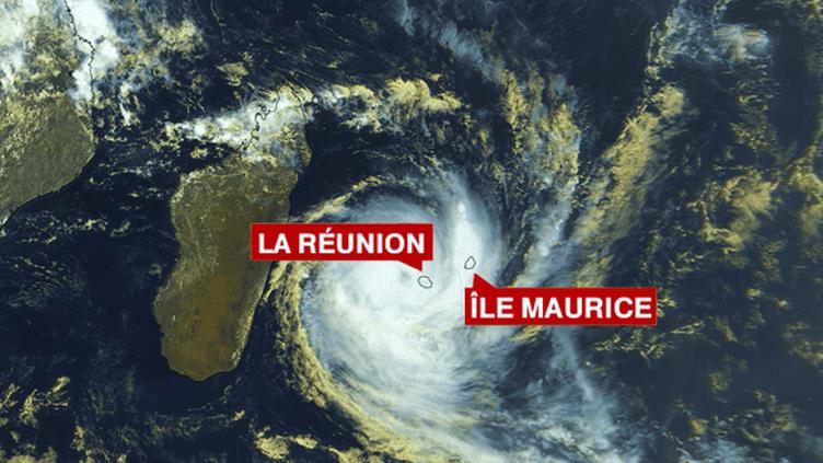 Dumile à 10h15, heure de Paris, 13h15 à La Réunion. ( FRANCE 2 / FRANCETV INFO)
