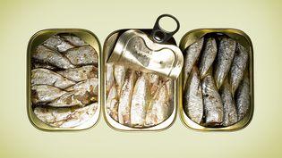 Trois boîtes de sardines. (FRANK BEAN / UPPERCUT RF / GETTY IMAGES)