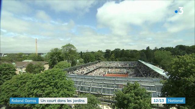 Roland Garros : un court en plein milieu des serres d'Auteuil