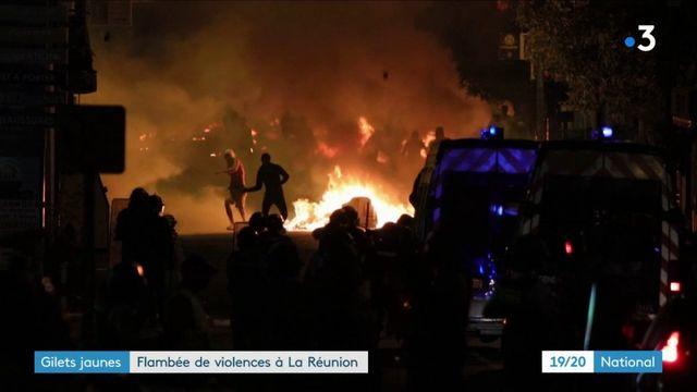 """""""Gilets jaunes"""": flambée de violence à La Réunion"""