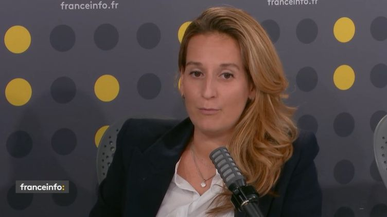 Alexandra Redde-Amiel, directrice des divertissements et variétés de France Télévisions. (FRANCEINFO / RADIO FRANCE)