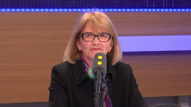 Valérie Lacroute, députée LR de Seine et Marne, invitée de Tout est politique (FRANCEINFO / RADIOFRANCE)