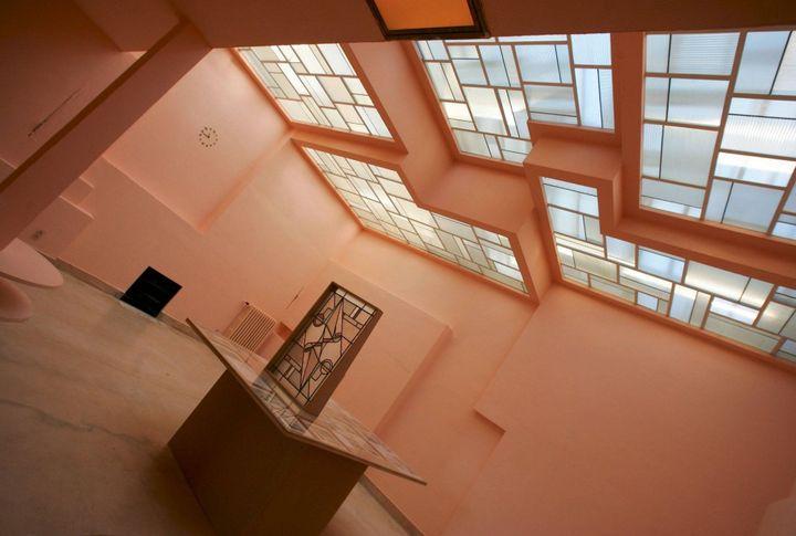 La Villa Noailles, le salon rose  (PHOTOPQR/NICE MATIN/FELIX GOLESI HYERES)