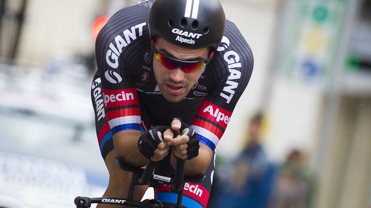 Le coureur de la Giant Tom Dumoulin (JAIME REINA / AFP)
