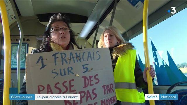 """Morbihan : un dimanche avec le mouvement des """"gilets jaunes"""" de Lorient"""