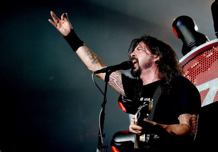 Dave Grohl des Foo Fighters en septembre 2015, lors d'un concert en Californie  (Kevin Winter / Getty Images North America / AFP)