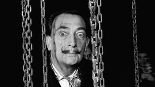 Salvador Dali en 1959  (Chance / Sipa)