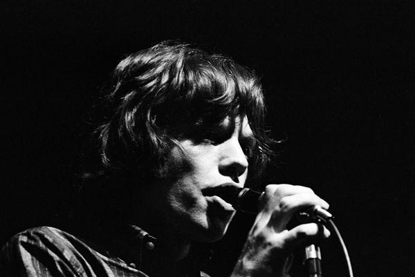 Mick Jagger le 18 avril 1965 à l'Olympia.  (Roger Kasparian)