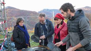 Feuilleton : les cœurs des villages (2/5) (CAPTURE ECRAN FRANCE 2)