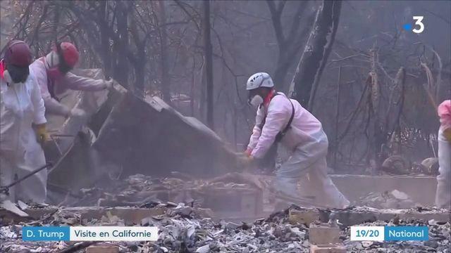 États-Unis : Donald Trump en visite en Californie après les incendies meurtriers