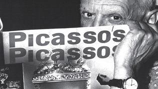 Couverture du Cahier de l'Herne N°106 consacré à Picasso (détail)  (Photo David Douglas Ducan 2014 / Editions de l'Herne)