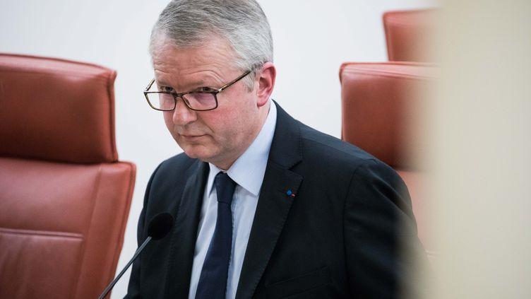 Le procureur de la République à Paris, Rémy Heitz, le 18 décembre 2017. (MAXPPP)