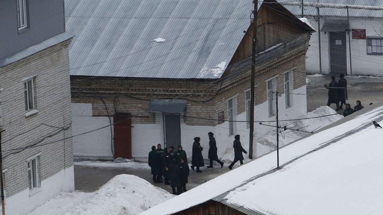 Maria Alekhina est détenue dans la colonie pénitentiaire de Nijni Novgorod  (Denis Tyrin/AP/SIPA)