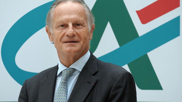 Le directeur général de Crédit agricole SA,Jean-Paul Chifflet, le 28 août 2012 à Montrouge (Hauts-de-Seine). (ERIC PIERMONT / AFP)