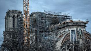 La cathédrale Notre-Dame de Pairs le 26 décembre 2019 (STEPHANE DE SAKUTIN / AFP)