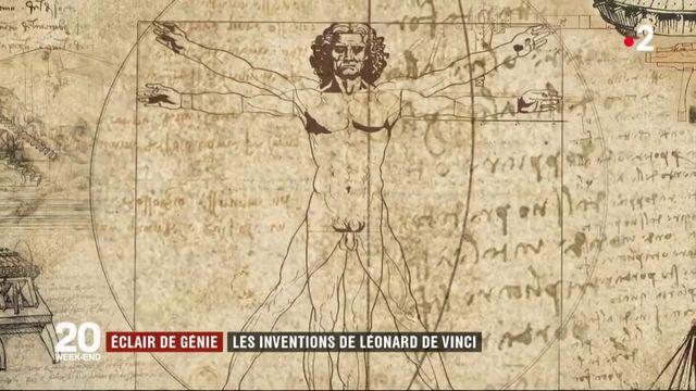 Eclair de génie : Léonard de Vinci, peintre, inventeur et ingénieur