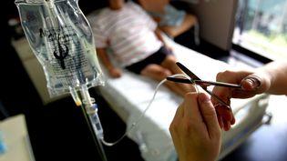 Le Conseil constitutionnel a validé les dispositions sur l'arrêt des traitements des patients hors d'état d'exprimer leur volonté, le 2 juin 2017. (MAXPPP)