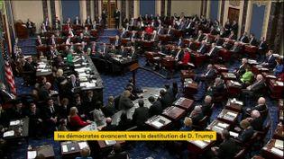La Chambre des représentants américaine (FRANCEINFO)