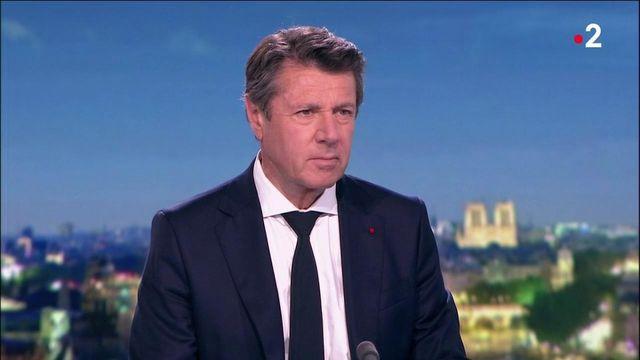 """Crise chez LR : Christian Estrosi demande """"une clarification sur la ligne politique"""" de son ancien parti"""