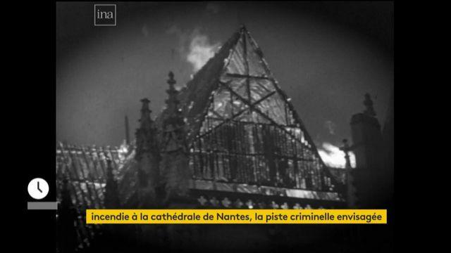 Jean Castex s'exprime devant la cathédrale de Nantes