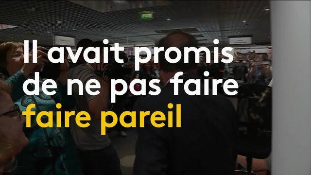 François Hollande : l'ancien président devenu conférencier de luxe