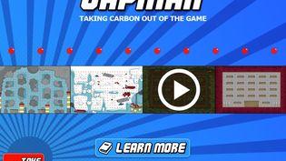 Capture d'écran du jeu en ligne Capman. (CARBON MARKET WATCH)