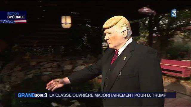 Élections américaine :  la classe ouvrière vote pour Donald Trump