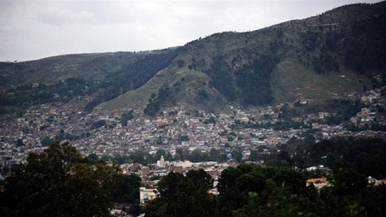Vue de la ville pakistanaise d'Abbottabad, où Oussama Ben Laden a été tué par des commandos américains (mai 2011) (AFP / Asif Hassan)
