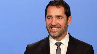 Christophe Castaner, premier délégué général de la République en marche, le 15 novembre à Paris. (LUDOVIC MARIN / AFP)