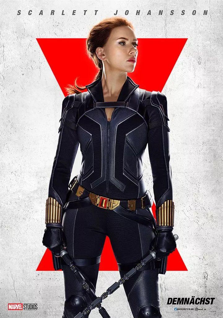 "L'affiche de ""Black Widow"" deCate Shortland (2021). (THE WALT DISNEY COMPANY FRANCE)"
