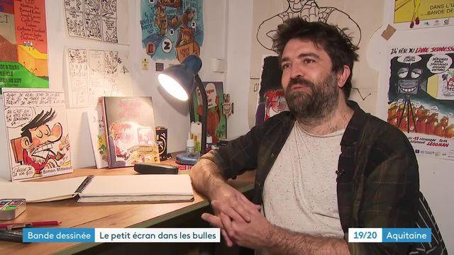 Portrait dessinateur bordelais