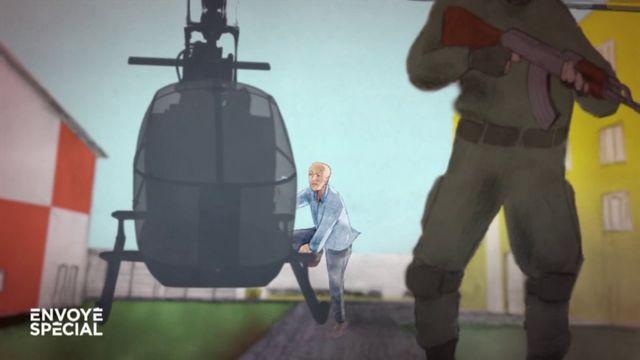 """Envoyé spécial.  """"Une vraie scène de guerre"""" : un surveillant raconte l'évasion de Redoine Faïd à """"Envoyé spécial"""""""