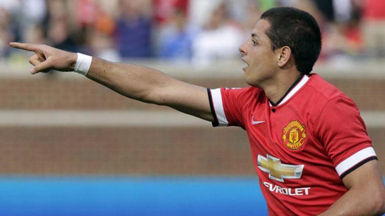 Javier Hernandez, dit Chicharito, sous le maillot de Manchester United